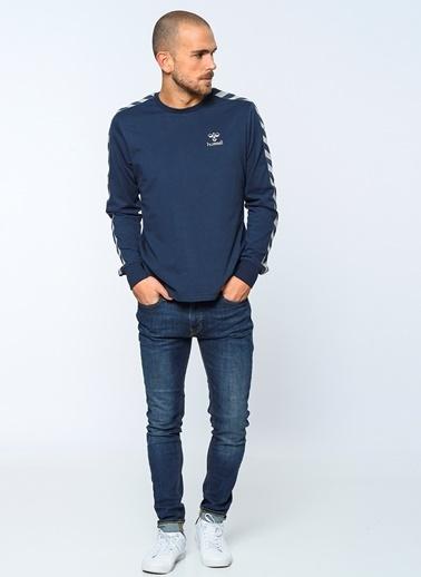 Hummel Uzun Kollu Tişört Mavi